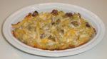 Meat and Mushroom Casserole-